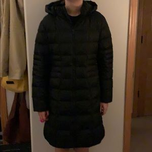 NorthFace long women's winter jacket